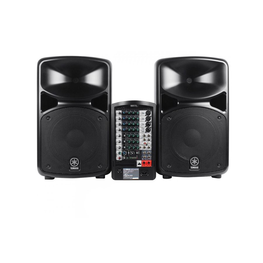 yamaha stagepas600i portable pa system stagepas 600i used. Black Bedroom Furniture Sets. Home Design Ideas